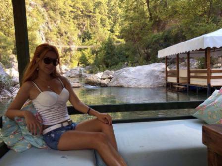 Azərbaycanlı aktrisanın Antalyada istirahəti
